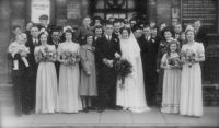 Gordon & Joyce Morgan Wedding<br>26th March 1949